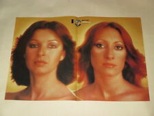 Baccara Maria Mayte clippings POSTER Germany Bellamy Brothers Hoffmann Hall Oats