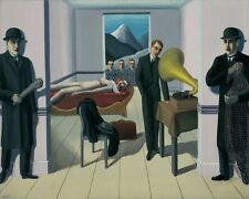 RENE MAGRITTE MENACED ASSASSIN 8X10 FINE ART PRINT 5946