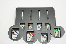 1 Box Dental Fiber Set  20 pcs Fiber Post & 4 Drills Dentist Product