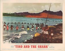 Tiko and the Shark 1963 11x14 Lobby Card #7