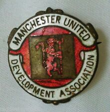 Manchester United 1970's Reeves & Co Development Association Football Badge Pin