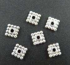 500pcs Tibetan Silver Square Spacers 5x5mm 1422