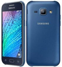 BRAND NEW SAMSUNG GALAXY J1 SM-J100H/DS BLUE  DUAL SIM 4GB UNLOCK SMART PHONE