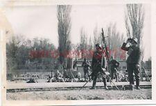 Foto, Wehrmacht, Donauübergang nach Bulgarien, Flieger Mg, Dreibein (N)1338