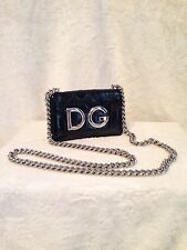 *NEW* DOLCE & GABBANA BLACK patent leather Handbag Evening Bag MSRP $1,495.00