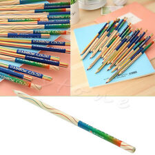 New 8pcs/Lot Rainbow Color Pencil 4 in 1 Colored Drawing Pencils