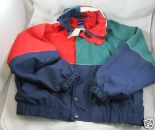 Catalina Nylon Sailing Yachting Jacket Mens Medium Full Zip Lined Color Block