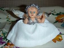Vintage Christmas Tree  Fairy Angel Funny Little  Doll  Decoration Ornament