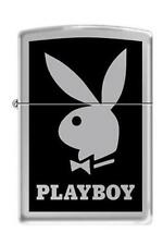 Zippo 2409 playboy bunny high polish chrome DISCONTINUED - Rare Lighter