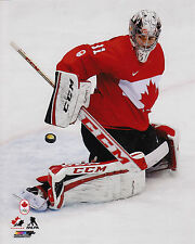 Team Canada Carey Price Action 8x10 Photo 2014 NHL Hockey Winter Olympics Gold