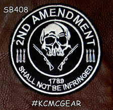 2nd Amendment Shall Not Be Infringed 1789 Patriot patch
