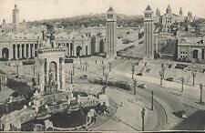 Tarjeta Postal BARCELONA. Exposición de Montjuic
