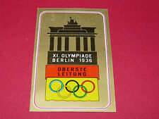 N°113 BERLIN 1936 PANINI OLYMPIA 1896 - 1972 JEUX OLYMPIQUES OLYMPIC GAMES
