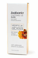 Babaria Bee Sting Venom Anti Wrinkle Smoothing Effect Roll on Eye Cream 15ml
