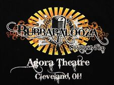 Used Bubba Love Sponge Bubbapalooza Cleveland 2-sided Tour howard Stern T Shirt