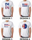Britain Stronger In Europe T Shirt I'm In Campaign - EU IN - Stay Referendum UK