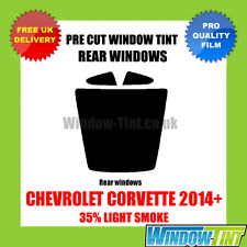 CHEVROLET CORVETTE COUPE 2014+ 35% LIGHT REAR PRE CUT WINDOW TINT