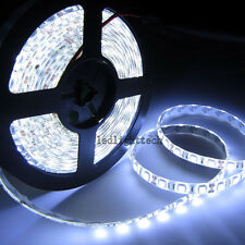 DC 24V 5M 5050 SMD 300 leds Cold White Flexible LED Strip Light Waterproof IP65