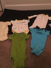 Carter's Newborn Baby  Onsies Top Shirts Clothing 7Pcs Rompers Jumpsuit
