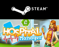 --  HOSPITAL MANAGER  [DE/EN]  --  STEAM-KEY  -  NEU  -  XP / Vista / 7 / 8