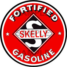 2 INCH SKELLY GAS GASOLINE GAS STATION DECAL STICKER SEVERAL SIZES AVAILABLE R