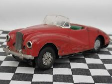STARTEX SUNBEAM ALPINE 1950'S TIN PLATE FRICTION DRIVE CAR RED - USED  UNBOXED