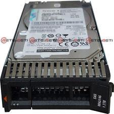 """€221+IVA Hard Disk IBM 00AJ146 2.5"""" 1.2TB 10Krpm SAS -System x3550 M5 / x3850 X6"""