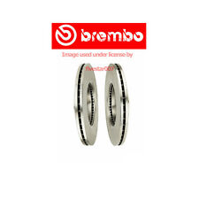 2 Pack brembo Front Brake Disc Rotor Set Pair for Ford Fusion for Mazda 6