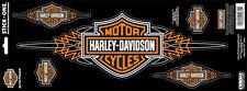 Harley Davidson B&S With Pin Stripes (XXXL)  HARLEY DECAL