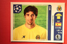 PANINI CHAMPIONS LEAGUE 2011/12 N 34 CANI VILLARREAL WITH BLACK BACK MINT!!