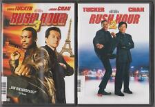 Rush Hour 2 Jackie Chan + Rush Hour 3 Chris Tucker Sammlung DVD Filme