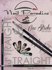 "Nail Art One stroke Chinese paint ""NAIL PARADISE"" high quality brushes ."