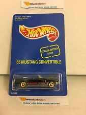 '65 Mustang Convertible 14042 * Seattle Toy Show 1995 * Hot Wheels * W13