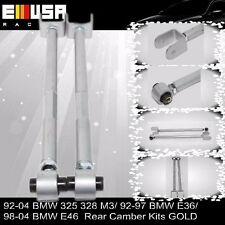 REAR LOWER CONTROL ARMS/BAR/ROD CAMBER KIT 95-05 BMW E46/E36/Z4/M3 3-SERIESILVER