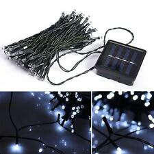 50-100 LED Outdoor Solar Powered String Light Garden Christmas Party Fairy Decor
