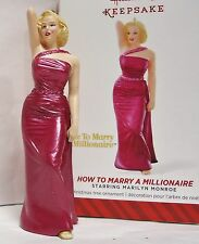 2014 HALLMARK How to Marry a Millionaire Marilyn Monroe Ornament NEW in Box