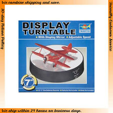 Trumpeter Modelling Tools - Battery Operated Round Mirrored Display Turntable