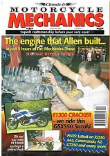 Classic & Motorcycle Mechanics Dec 1998 Suzuki GSX550ES Commando XJ550 Rickman