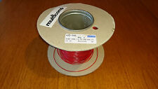 Multicomp Wire, Hook Up, PVC, Red, 24 AWG, 0.229 mm², approx 20m