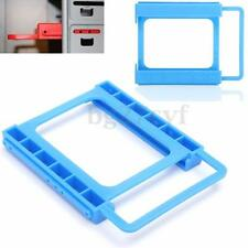 """2.5"""" to 3.5"""" Adapter Bracket SSD HDD Desktop PC Mounting Hard Drive Disk Holder"""