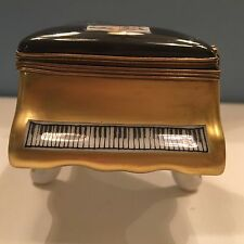 Parry Vieille Baby Grand Piano Trinket Box from Limoges France