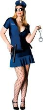 "Adult Ladies HALLOWEEN COSTUME ""Officer Frisky"" PLUS SIZE Full Cut  14-16 POLICE"