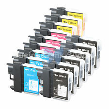 15 PK LC61 Ink for Brother MFC-J630W MFC-J615W MFC-J415W MFC-J410W MFC-J270W