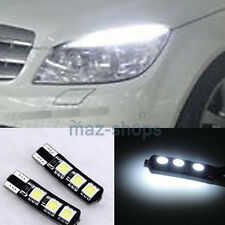 2X 2825 2827 6SMD White Error Free LED Parking Eyelid City Lights Bulbs For Benz