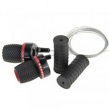 Useful 2x Bike MTB Bicycle Speed Twist Shifter Set with Grips High Quality