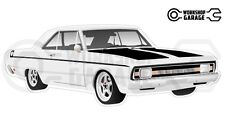 Chrysler Valiant VG Pacer Hemi 2Door - White with Momos