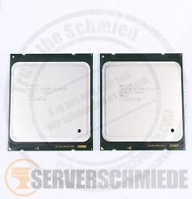 2x Intel xeon e5-2670 sr0kx l'Octa Core CPU 8x 2,60 GHz 2011 matched pair