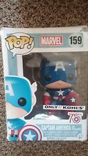 ●● FUNKO POP! KOHL'S Exclusive 75th Anniversary Captain America ●● PHOTON SHIELD