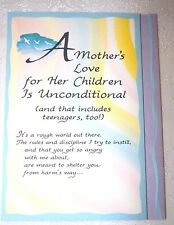 Blue Mountain Card A Mother's Love For Her Children Is Unconditional