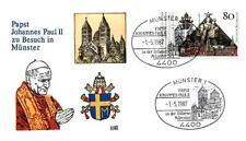 Germany 1987 Jan Paweł II papież John Paul pope papa papst Munster (87/2)